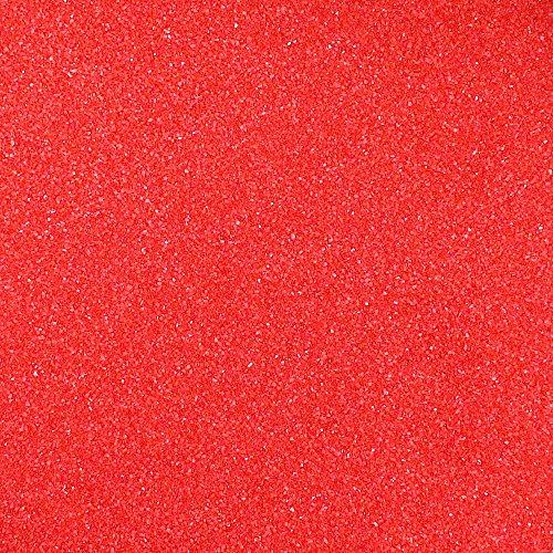 Eurosand Sand, Beutel, 0,1–0,5mm, Rot, 1kg