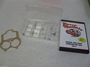 Genuine Genuine Mikuni OEM Non-Bleed Carburetor Size 55 Pilot Jet N151.067//55 Sold Individually by Niche Cycle Supply