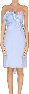 ALEXA CHUNG Luxury Fashion Womens MCGLVS00000A7008E Light Blue Dress | Season Outlet