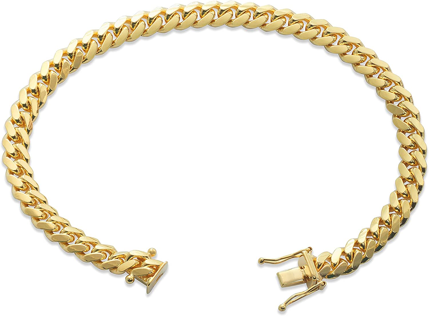 14k Yellow Gold 6mm Solid Miami Cuban Box with Ranking Max 67% OFF TOP16 7