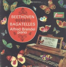 Beethoven, Alfred Brendel - Bagatelles - TV 34077S, TV 34077-S NM/NM LP