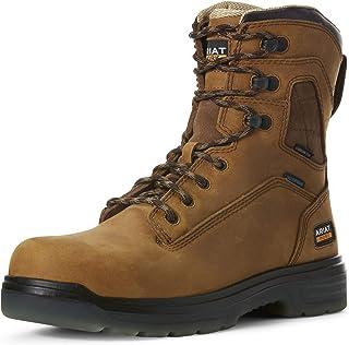 "ARIAT Men's Turbo 8"" H2o Carbon Toe Work Boot"