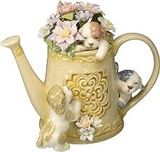 Cosmos 80100 Fine Porcelain Hide 'n Seek Dog Trio Musical Figurine, 5-Inch