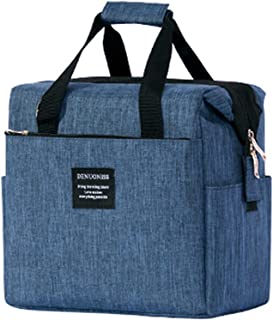 colore: Blu 10 l Borsa termica per il pranzo TEAMOOK Tessuto Blu