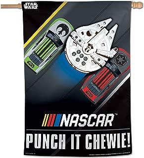 Wincraft Star Wars NASCAR Punch it Chewie Banner Flag