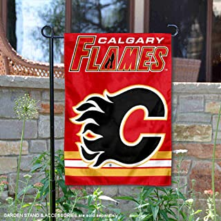 WinCraft Calgary Flames Double Sided Garden Flag