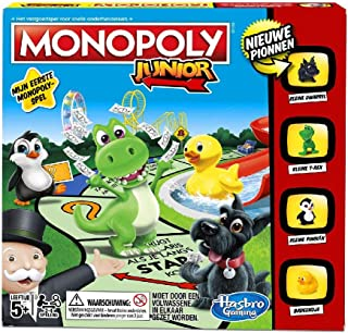 Monopoly Junior Borspel voor kinderen vanaf 5 jaar