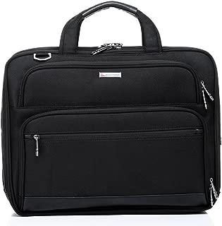 QANTAS Expandable Briefcase, (Black), (QF1-A)