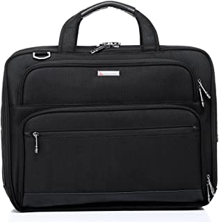 QANTAS Expandable Briefcase, (Black), (QF1-A)