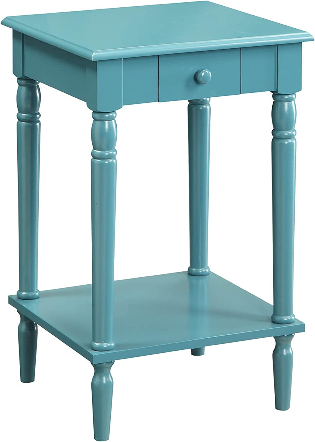 Convenience Concepts 6053185 French Country End Table, bluee