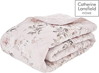 Rose poudr/é Polyester Catherine Lansfield Cuddly Couvre-lit 150 x 200/ cm