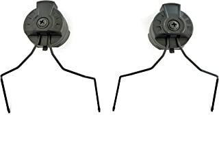 Armorwerx Universal Communication Headset Adapters for Accessory Rail Equipped Tactical Helmets