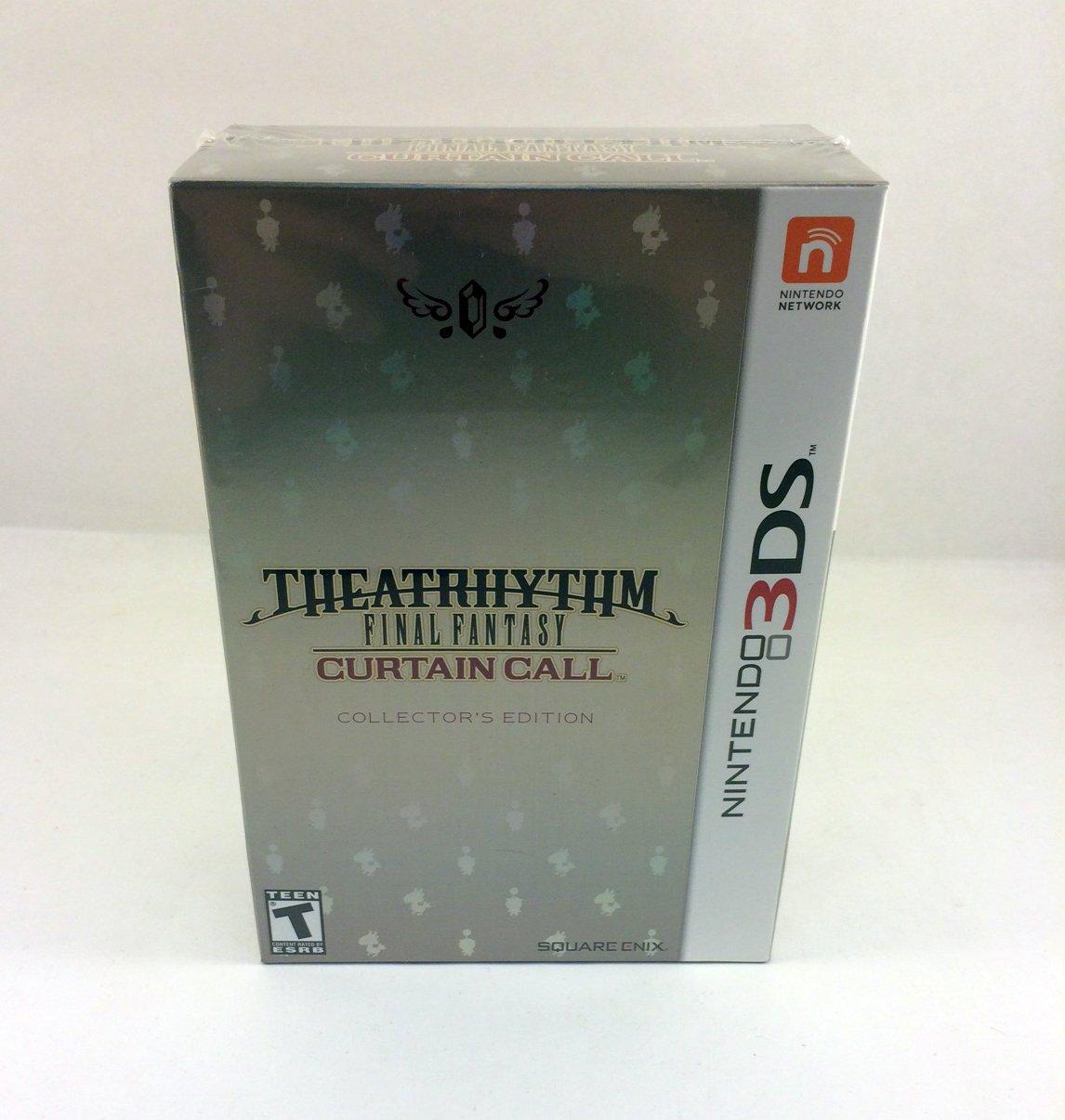 Theatrhythm Final OFFicial shop Fantasy Curtain Japan Maker New Call: Edition Collector's
