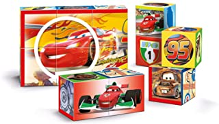 Clementoni Disney Cars Multi Play Cubes Puzzle - 4 Years and above