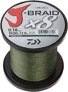 Daiwa, J-Braid x4 Braided Line, 3000 Yards, 20 lbs Tested.008