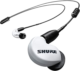 Shure SE215 Wireless Earphones with Bluetooth 5.0, Sound Isolating, Special Edition White