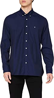 Hackett London Continuity WSH/Oxford Camisa para Hombre
