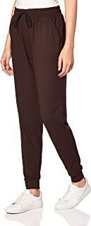 Leggings Depot Women's Printed Solid Activewear Jogger Track Cuff Sweatpants Inner Pockets
