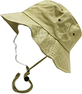 City Hunter 男女通用棉质普通平头渔夫帽 - 多色