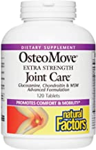 Natural Factors, OsteoMove Joint Care, Extra Strength Support for Joint and Bone Health, Non-GMO, 120 tablets (60 servings)