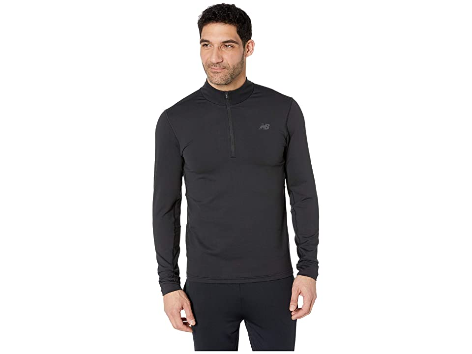 New Balance Anticipate 2.0 1/4 Zip (Black) Men