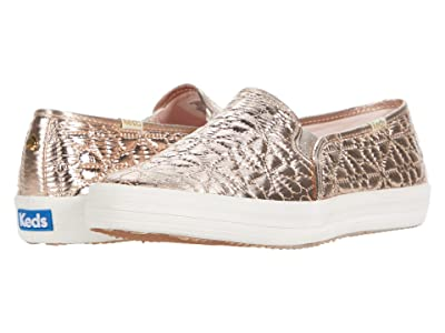 Keds x kate spade new york Double Decker Quilted (Champagne Quilted Nylon) Women