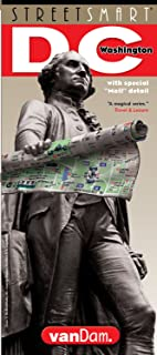 StreetSmart Washington DC Map by VanDam -- Laminated City Street pocket map with all museums, sights, monuments, government buildings and hotels plus ... (English) Map – Folded Map, March 1, 2018