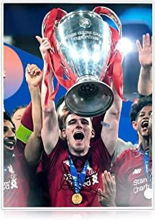 Andrew Robertson Signed Liverpool Photo: 2019 Champions League Winner | Autographed Memorabilia