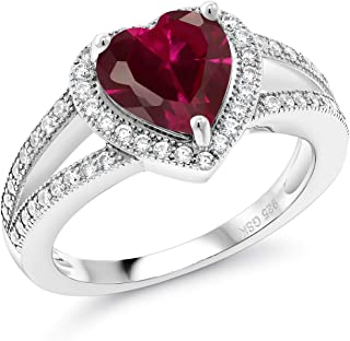 Best 925 silver ring with ruby Reviews