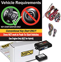 MPC Complete Factory Remote Activated Remote Start Kit for 2003-2006 Chevrolet Avalanche - with Bypass - Firmware Preloaded