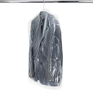 Hangerworld 50 Fundas 102cm Protección de Ropa en Polietileno Trasparente Antipolvo