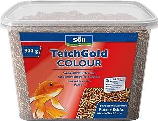 Söll GmbH Estanque de Oro Colour de Sticks–Solos Forro Medio para Todos Los Peces de Estanque–schwimmfähige Estanque Sticks