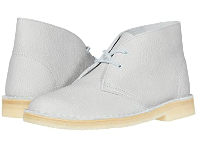 Clarks Desert Boot (Light Blue Leather) Women