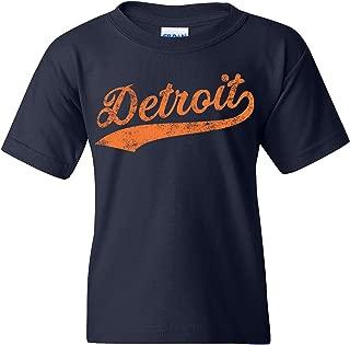 UGP Campus Apparel Hometown Baseball Script - Pride, Pitcher Youth T Shirt