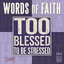 Words of Faith 2020 Wall Calendar: by Sellers Publishing