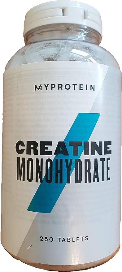 MyProtein Monohydrate Unflavoured Creatina - 250 Tabletas