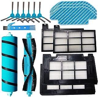 Pack de 1 Cepillo Principal+6 Filtros 3 Mopas 6 Cepillos Laterales Kit de Herramientas REYEE Kit para Cecotec Conga Excellence 4090 Robot Aspiradora