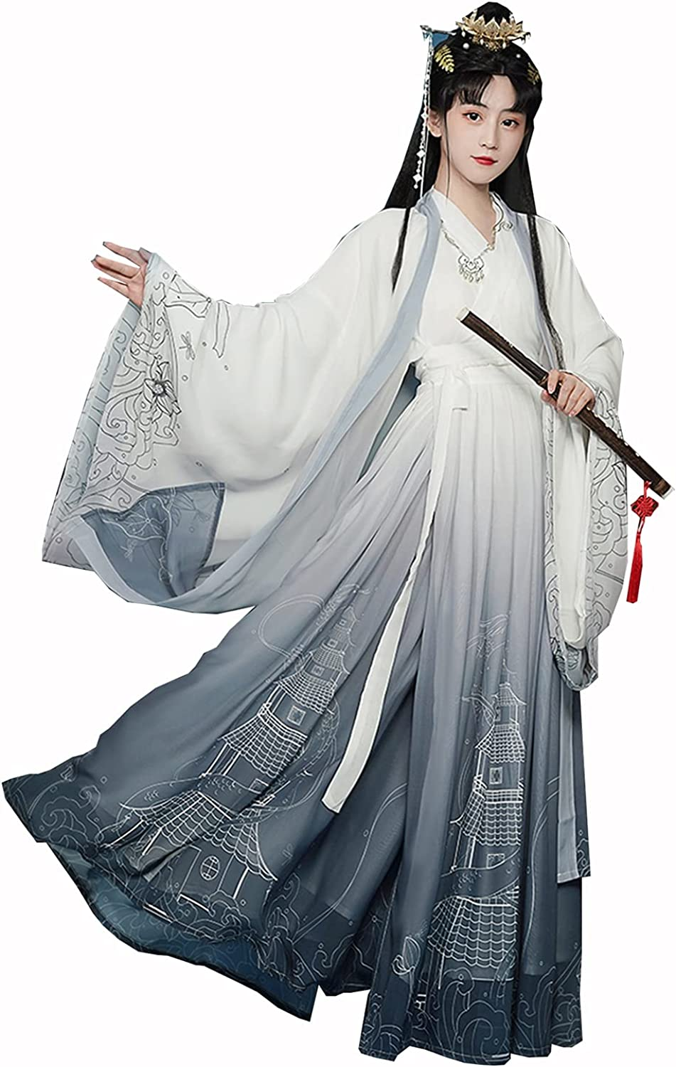 trend rank Industry No. 1 Hanfu Women's Traditional Dress Outf Skirt Costume Chinese