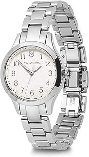 Victorinox - Mujer Alliance XS - Reloj analógico de Cuarzo/Cuero de fabricación Suiza de Acero Inoxidable 241840