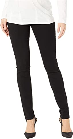 Maternity Verdugo Ultra Skinny in Black Shadow