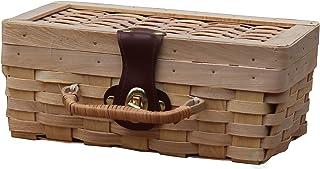 سلة رحلات خشبية صغيرة من Vintiquewise(TM) ، سلة رحلات خاصة للأطفال