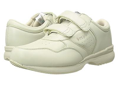 Propet Life Walker Strap Medicare/HCPCS Code = A5500 Diabetic Shoe (Sport White) Men