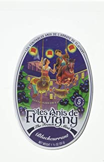 Les Anis de Flavigny Blackcurrant Flavored Hard Candy 50 g
