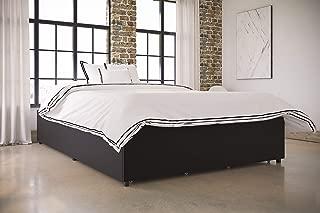 Best maven upholstered faux leather platform bed Reviews
