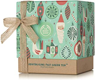 The Body Shop Fuji Green Tea Revitalizing Gift Set, Enriched with Green Tea Leaves from the Foothills of Mount Fuji, 5 Piece