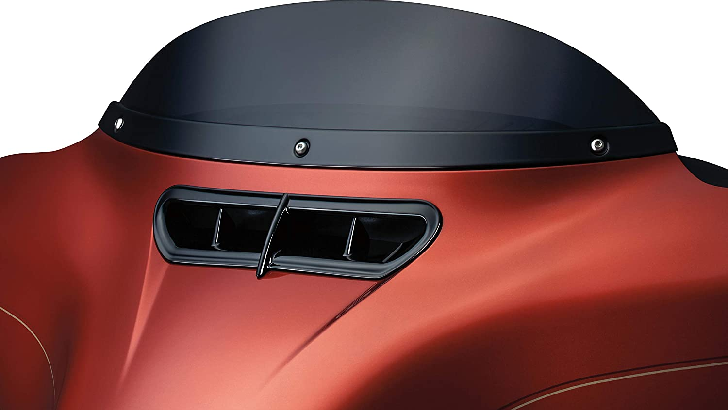 Kuryakyn New product 1389 sale Motorcycle Accessory: Smooth Trim 2 for Windshield