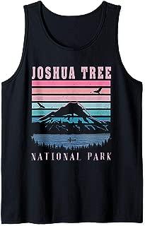 Joshua Tree National Park T-Shirt Retro Souvenir Gift Tank Top
