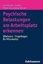 Psychische Belastungen am Arbeitsplatz erkennen: UBalance - Fragebogen für Mitarbeiter (German Edition)