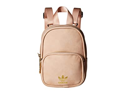 adidas Originals Originals Mini PU Suede Backpack (Ash Pearl Pink) Backpack Bags