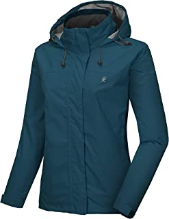 Women's Waterproof Breathable Jacket Outdoor Shell Jacket for Hiking, Travel, Skiing